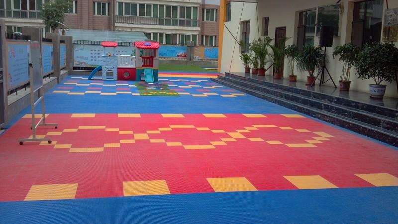 东欧幼儿园塑胶地板