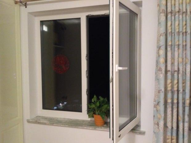 天庆家园隔音窗安装实景