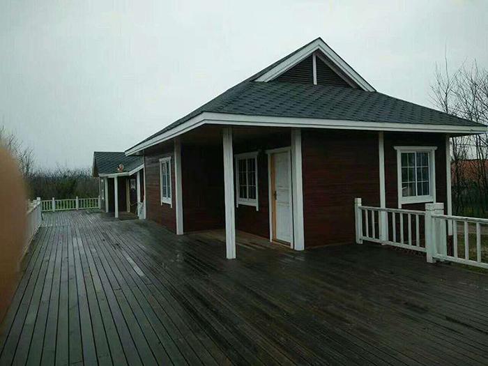 防腐木歐式木屋