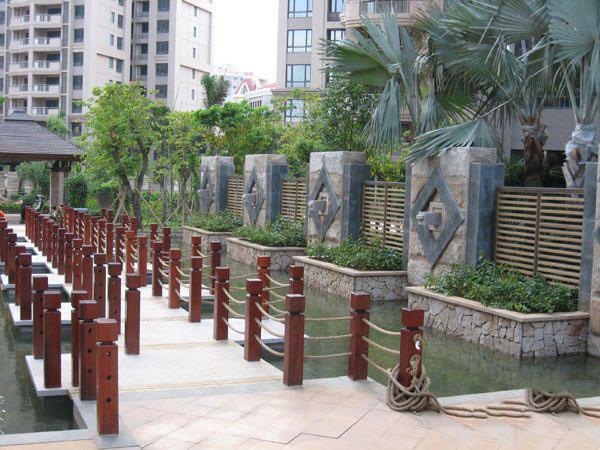 兰州防腐木厂家分享:防腐木材,打造酒店庭院的灵魂!