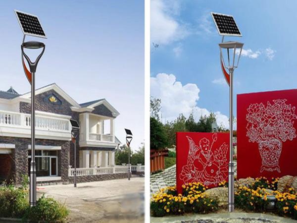 公园太阳能路灯