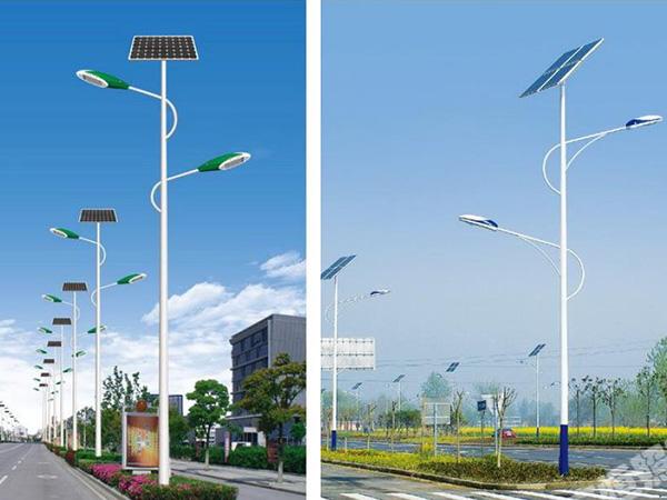 太阳能路灯施工