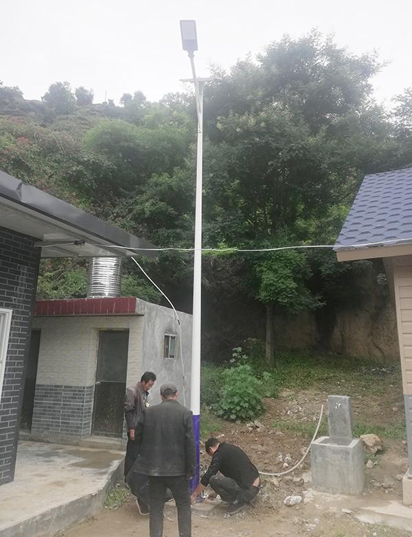 宕昌新农村太阳能路灯