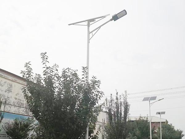 定西太阳能路灯安装