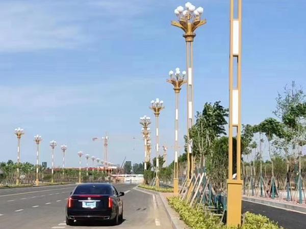 天水路灯安装工程