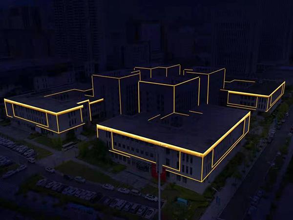 陇南市体育馆亮化工程