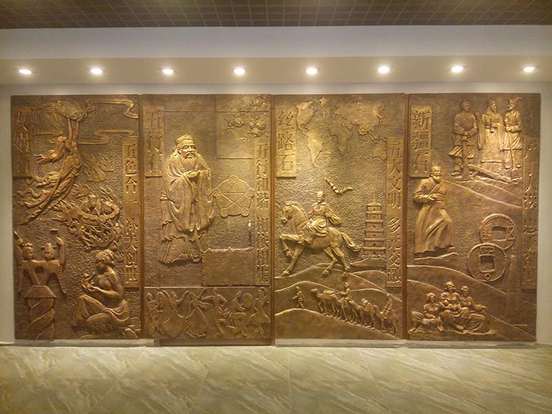 甘肃砂岩浮雕制作安装