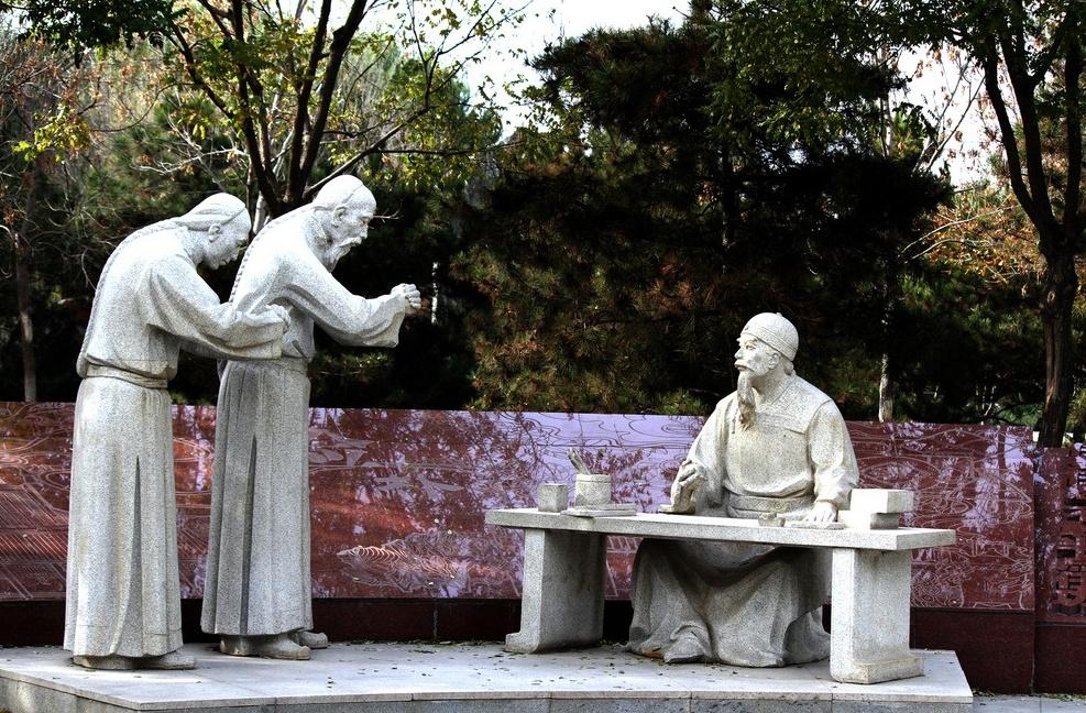 石材人物雕塑