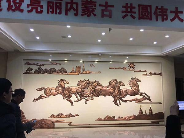 锻铜浮雕壁画设计制作