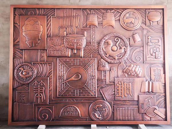 锻铜装饰浮雕设计