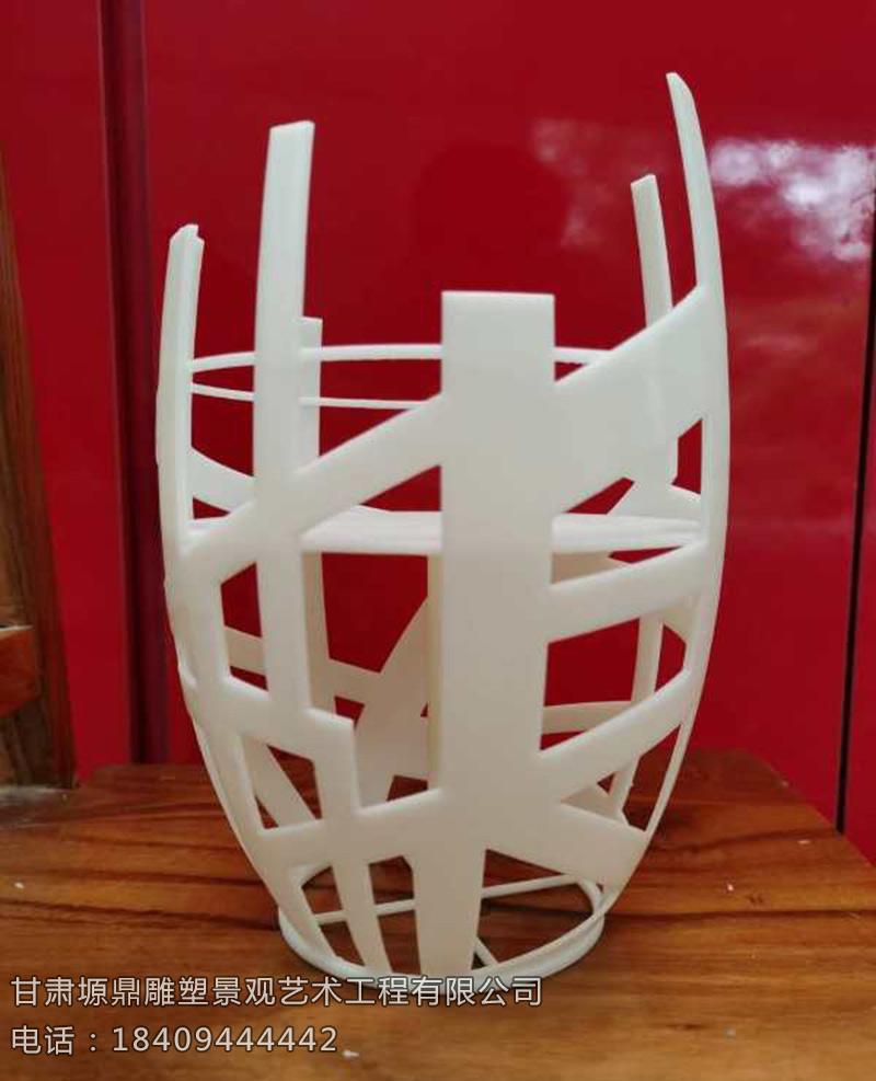 不锈钢观景平台雕塑设计制作