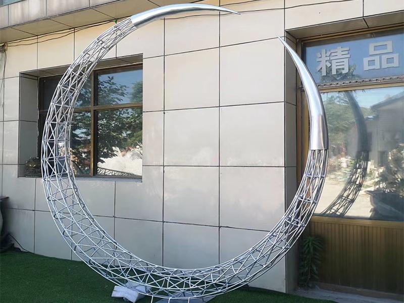 不锈钢镂空雕塑定制