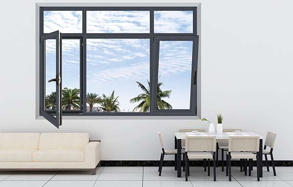 推拉式鋁合金門窗