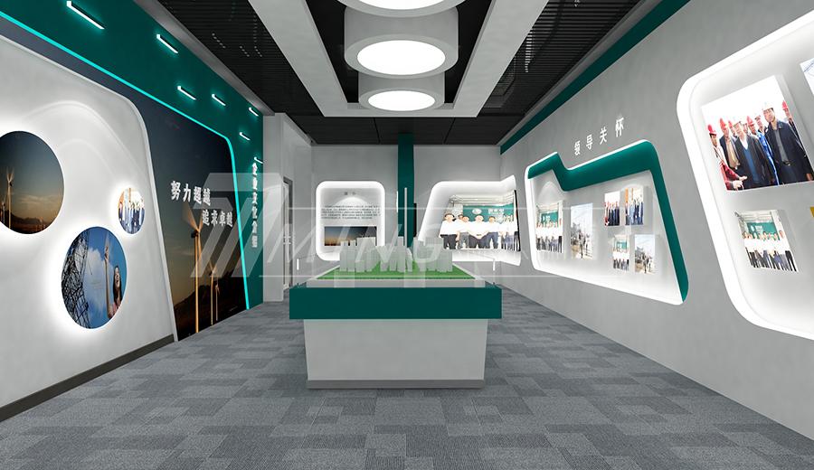 國網甘肅省電力公司檢修企業展廳設計
