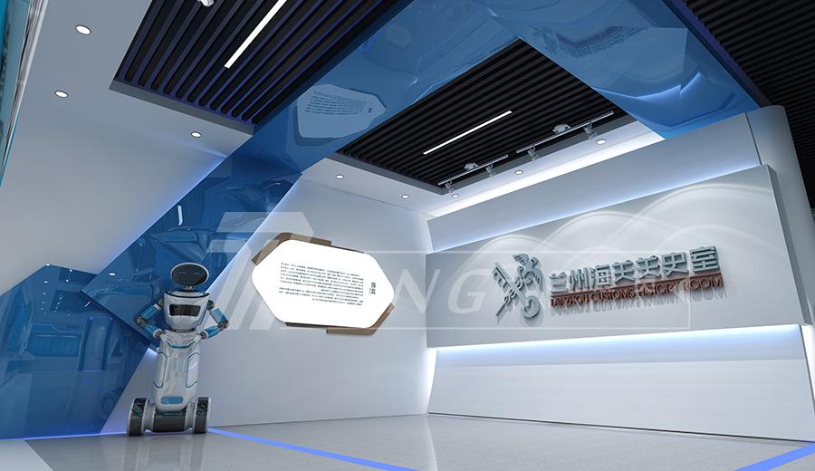 海關文化企業展廳設計