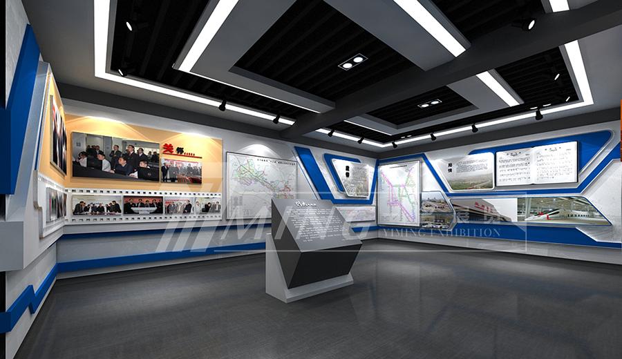 蘭州鐵路通信段企業文化展廳