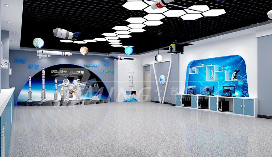 航天科技館展廳設計