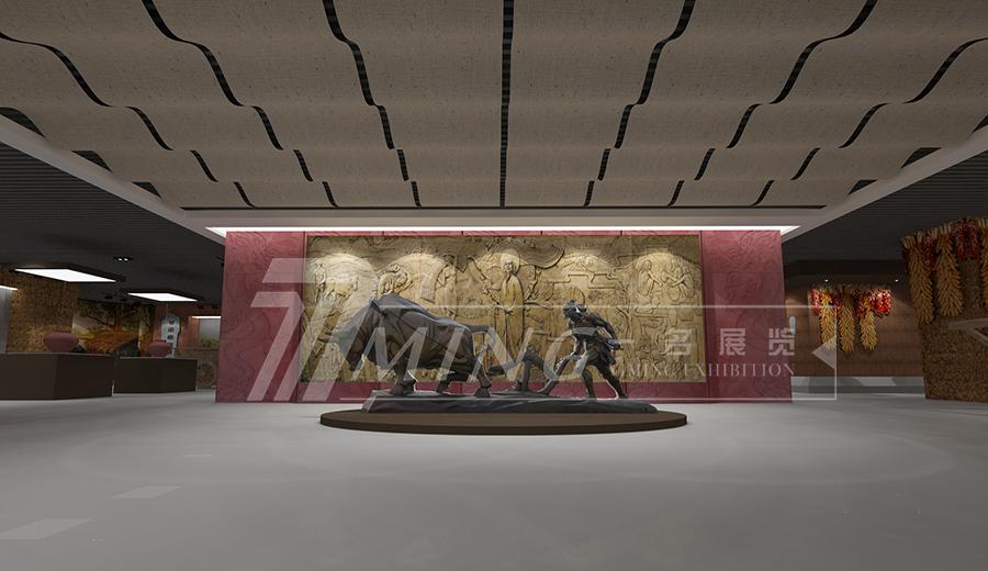 甘肅農業職業技術學院校史館展廳設計