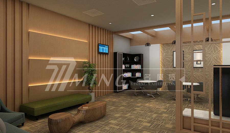 敦煌機場VIP室展廳設計