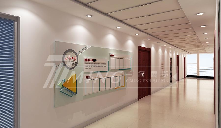 甘肅日報社走廊文化設計