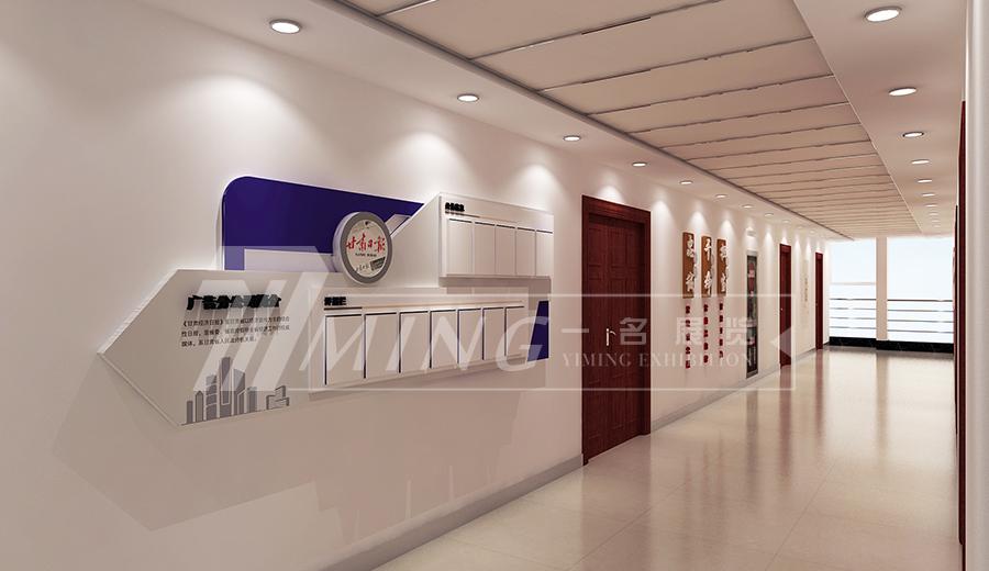 甘肅日報社走廊文化設計(2)