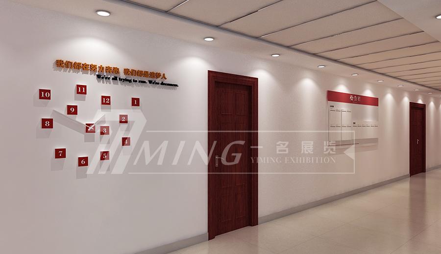 甘肅日報社走廊文化設計(3)