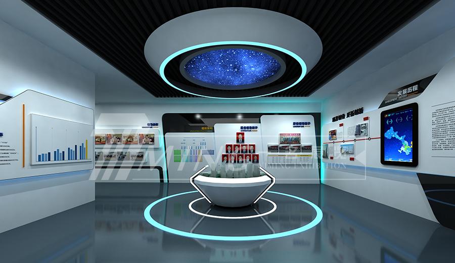 甘肅電投企業文化展廳(2)