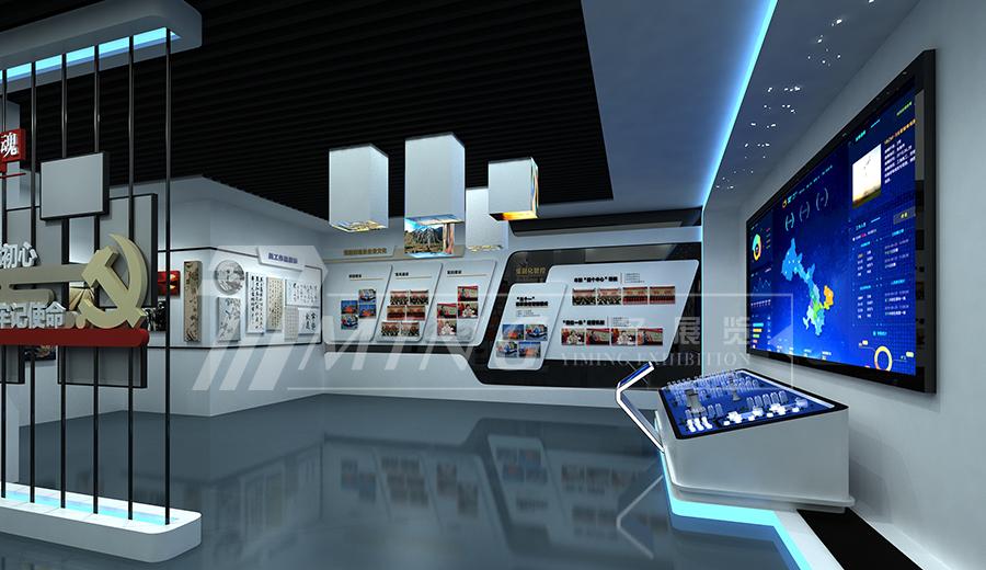 甘肅電投企業文化展廳(3)