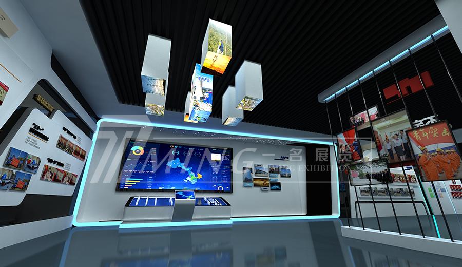 甘肅電投企業文化展廳(4)