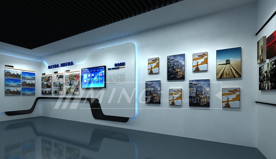 甘肅電投企業文化展廳(5)