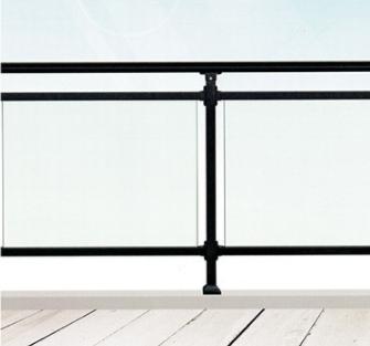 兰州钢化玻璃栏杆