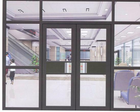 肯德基玻璃门