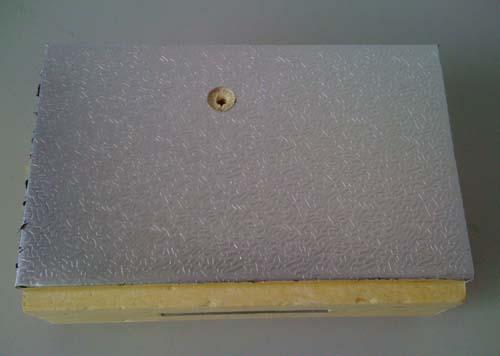 壓花鋁冷庫保溫板