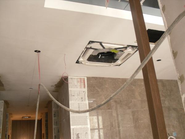 私人会所美的中央空调安装