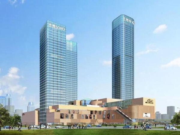 大型商场弱电智能化项目之-兰州中心项目