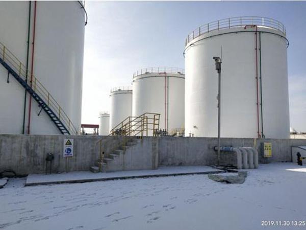 甘肃中石油油库安防项目之----酒泉油库弱电项目