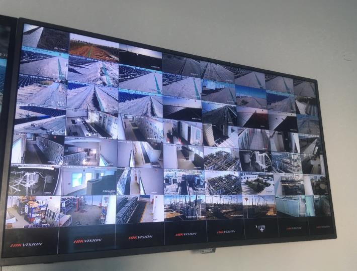 甘肃中联承接格尔木光伏电厂视频监控系统项目