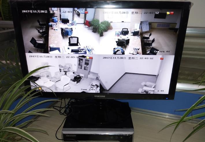 陇南烟草公司视频监控系统安装工程