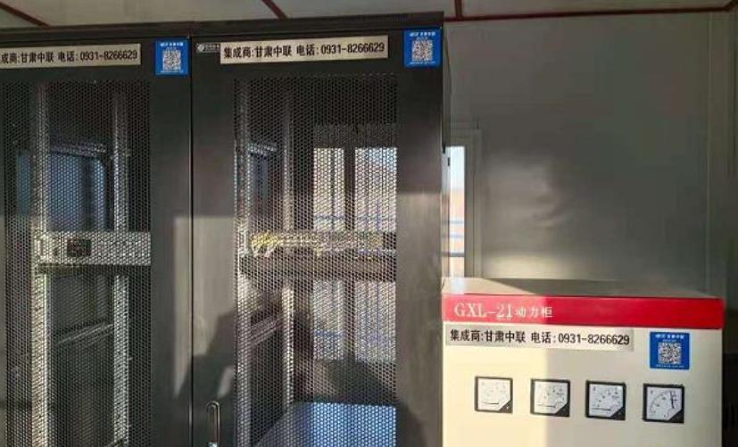 我公司承接武威旱滩坡安防监控系统