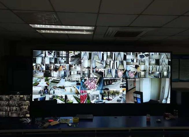 黄河公司西安办公楼视频监控系统验收完成并已投入使用