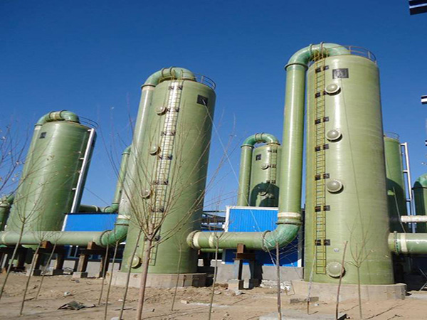 甘肃众润环保科技公司为您介绍玻璃钢脱硫除尘器的工作原理