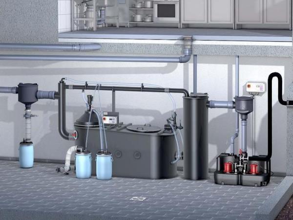 油水分离器厂家浅谈火锅油水分离器设备的特点