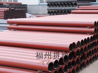 福建柔性铸铁管规格
