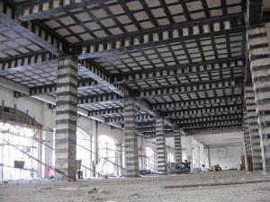 碳纤维加固施工