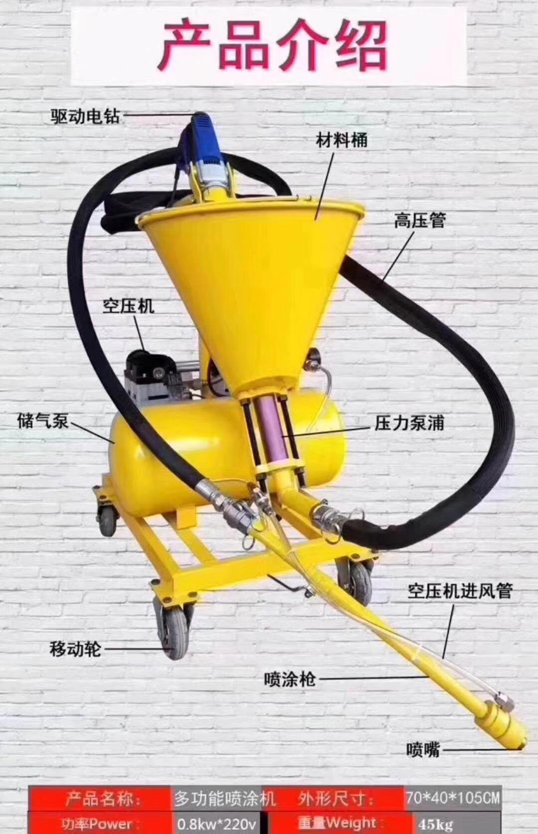 防水涂料喷涂机