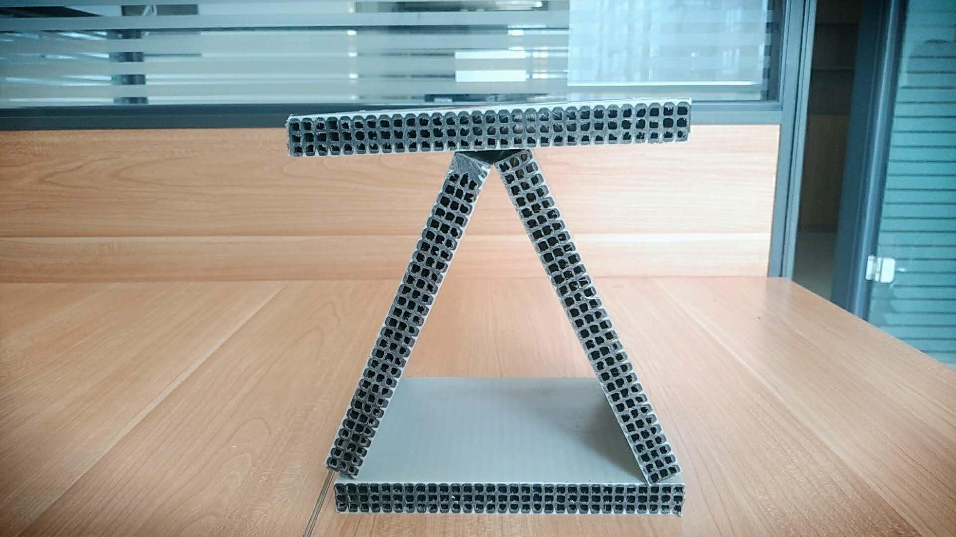 中空塑料复合模板