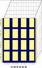 中空塑料模板施工使用说明图解(一)