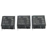 HF46F 5 12 24 -HS1 宏发继电器 5V 12V 24V 5A 4脚 同G5NB