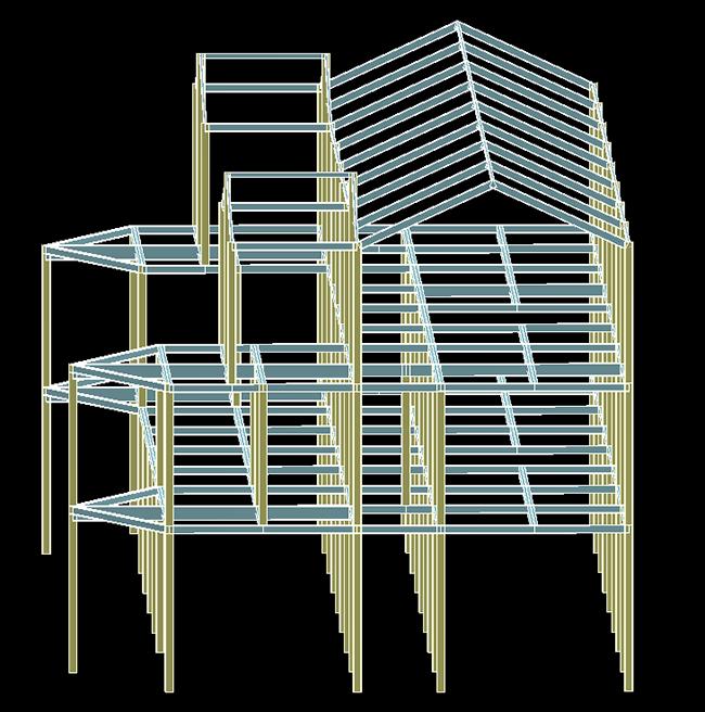 钢结构效果图1
