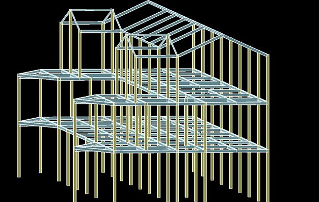 钢结构效果图2